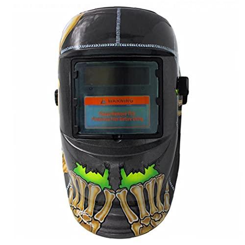 Máscara de soldadura Casco de soldadura Auto oscurecimiento con capucha con energía solar MIG TIG ARC Soldador Cara Protección ocular Seguridad Accesorios Accesorios Accesorios