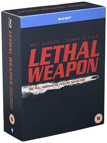 Lethal Weapon 1-4 [Blu-ray] [UK-Import]
