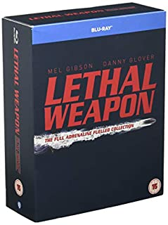 Lethal Weapon: The Complete Collection [4 Film] [Blu-ray] [1987] [2005] [Region Free] (B003V1YHFE) | Amazon price tracker / tracking, Amazon price history charts, Amazon price watches, Amazon price drop alerts