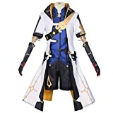 YLJXXY Mondstadt Albedo Cosplay Costume Genshin Impact Cosplay Game Outfit Full Set Clothing Suit,L