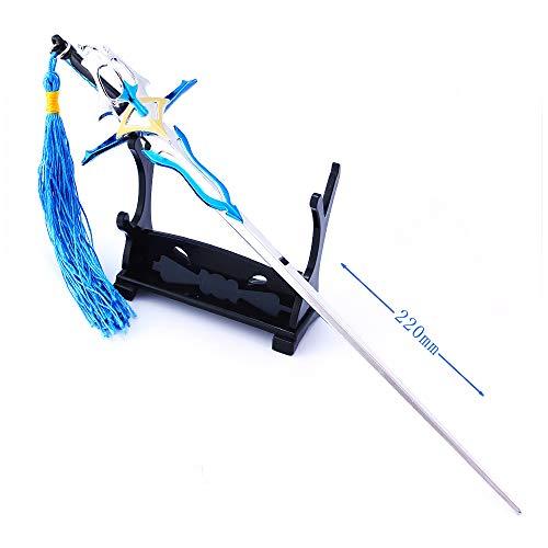 HHJBB The King'S Avatar Yexiu Espada Modelo Figuras de Acción Juguetes Artes Colección Llavero del Regalo del Rey Avatar Señor (C)