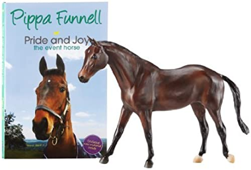 Breyer Pippa Funnell's Primmore's Pride Horse and Book by Breyer