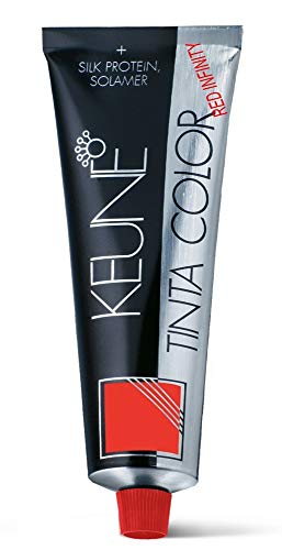 KEUNE TINTA COLOR RED INFINITY 7.46 RI MEDIUM INFINITY COPPER RED BLONDE 2.1 OZ + SILK PROTEIN & UV PROTECTION by Keune