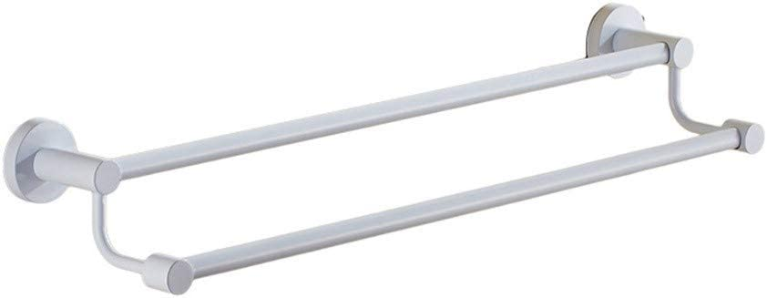 Daily bargain sale SSHA Towel bar Bathroom Bar Stainless Double 35% OFF Steel Wall-Wh