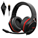 Xiberia V22 Gaming Headset for PC- Strong Bass Virtual 7.1 Sound- USB Headphones with Noise Cancelling Microphone RGB Lights Plug & Play for Laptops Computers (Renewed)