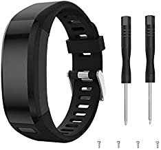 Junboer Compatible Garmin Vivosmart HR Watch Band, Accessories Silicone Replacement Wrist Watch Strap for Garmin Vivosmart HR SmartWatch(NOT for Vivosmart HR+), Only for 4PK