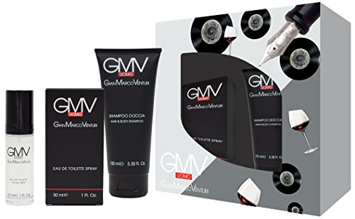 Gian Marco Venturini Eau de Toilette Hombre y Shampoo Ducha–150gr