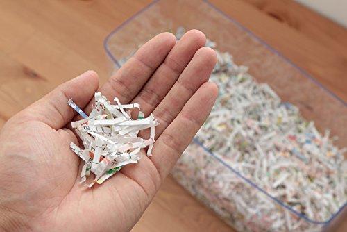 アイリスオーヤマハンドシュレッダー家庭用卓上CD/DVD/カード細断可能クロスカットダストボックス3.2LコンパクトH1MEブルー/ホワイト