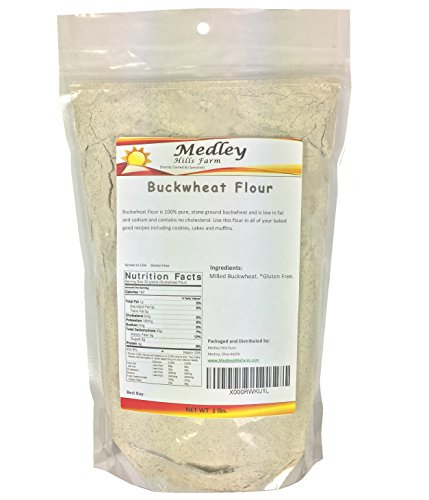 Buckwheat Flour Gluten Free 1 lb Grown in USA