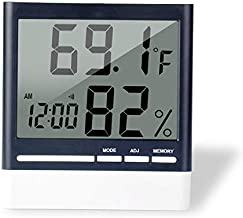 EIGenS Digital Thermometer and Hygrometer Temperature Humidity Gauge Monitor