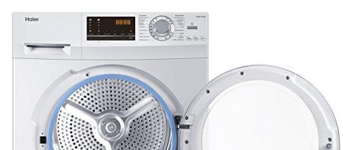 Haier HD90-A636 Wärmepumpentrockner/A++ / Edelstahltrommel/Trommelinnenbeleuchtung/Weiß - 4