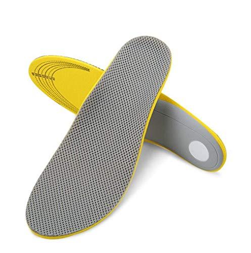 Yikoly Unisex Adults Einlegesohlen fersensporn Schuheinlagen Arbeitsschuhe,orthopädische Massagedämpfung Atmungsaktiv weich, bequem,Stoßdämpfung für Fersenschutz und Fußbogenstütze (EU 41-46)