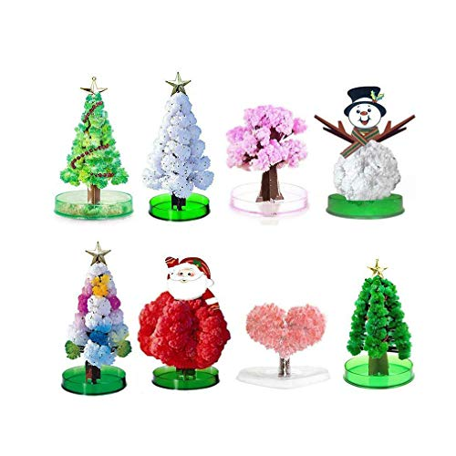 HAU Filler Magic Growing Christmas Tree Funny Funny Crystal Gift Toy...