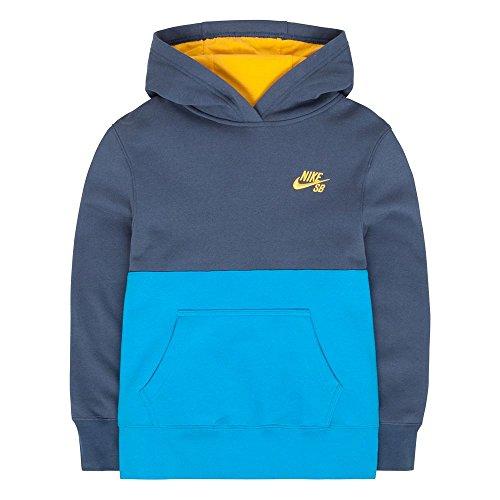 Boys 8-20 Nike SB Fleece Hoodie, Squad Blue, MEDIUM