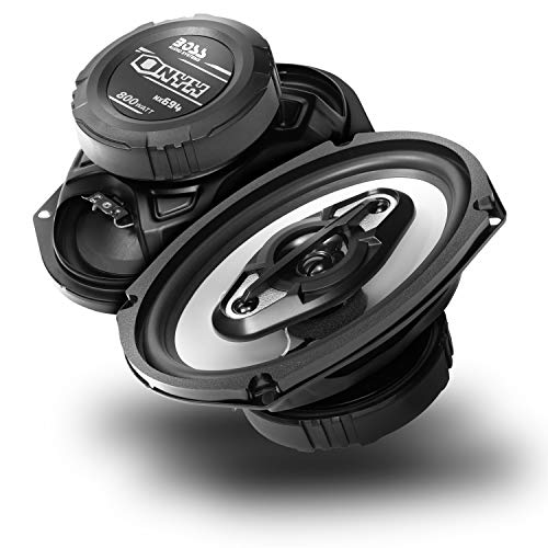 BOSS Audio Systems NX694 Car Speakers - 800 Watts Per Pair, 400 Watts Each, 6 x 9 Inch, Full Range, 4 Way, Sold in Pairs