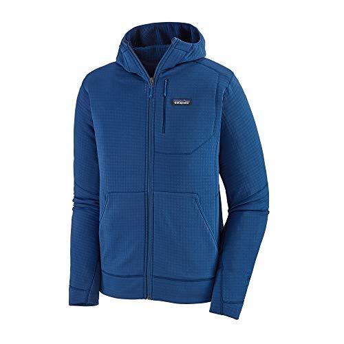 Patagonia M's R1 Full-Zip Hoody Felpa Uomo, Uomo, Felpa, 40090, Blu (Superior Blue), M