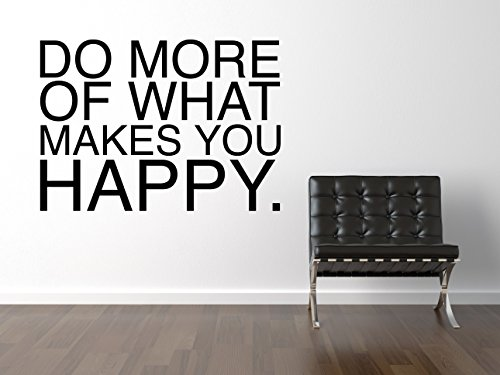 Certified Freak Do More What Makes You Happy Pegatina De Pared Negro 180 x 128 cm