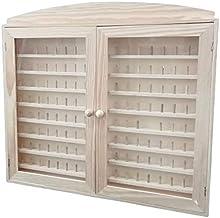 Vitrina colecciones dedales. 2 puertas. Capacidad: 144