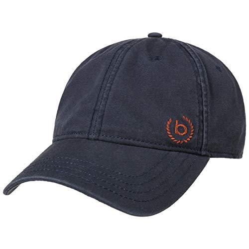 Bugatti Organic Cotton Cap Basecap Baseballcap Herrencap Damencap Golfcap Sonnencap Baumwollcap (L/XL (58-60 cm) - dunkelblau)