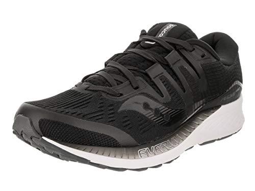 Saucony Men's Ride ISO Shoes, Black, 11.5
