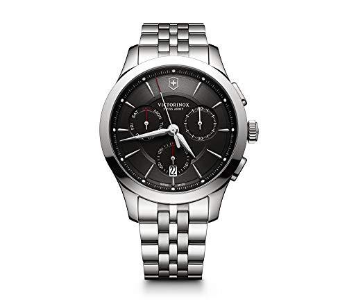 Victorinox Uomo Alliance - Orologio cronograf al quarzo in acciaio inossidabile fabbricato in Svizzera 241745