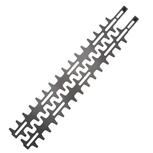 Jardiaffaires Messer-Set, 55 cm, anpassbar, für Heckenschere, Stihl HL, Kombisystem oder Viking