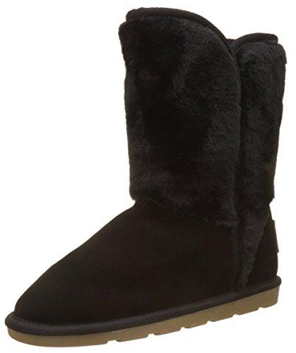 Les Tropéziennes par M. Belarbi Damskie buty zimowe Chatel, czarny - czarny Noir - 38 EU