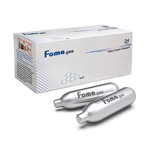 FOMAGAS Whipped Cream Chargers, 120 Packs