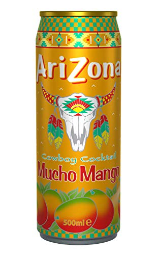 12 x Arizona Cowboy Cocktail Mucho Mango Dosen (12 x 0,5 L) (E.U.)