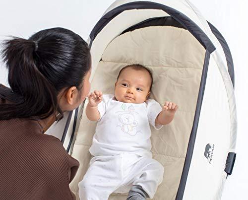 Deryan Baby-Reisebett, Khaki - 9