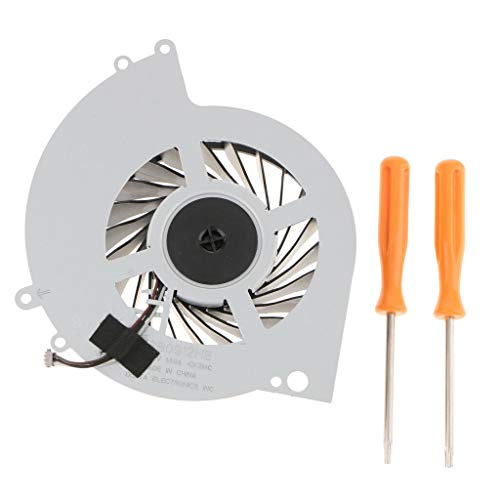 YIZAN Ksb0912He Internal Cooling Cooler Fan for Ps4 Cuh-1000A Cuh-1001A Cuh-10Xxa Cuh-1115A Cuh-11Xxa Series Console with Tool Kit