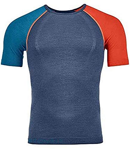 ORTOVOX Herren 120 Comp Light T-Shirt, Night Blue, L