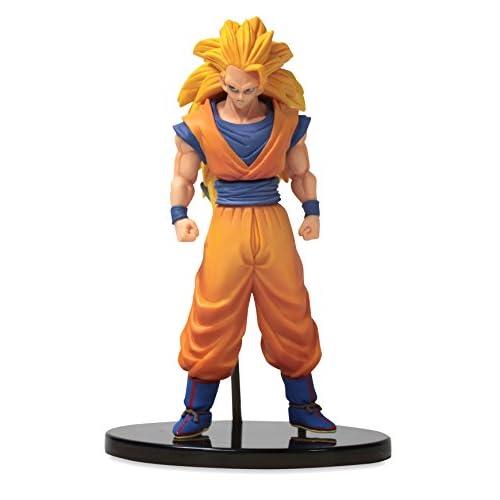 Banpresto - DBZ Dragon Ball Heroes DXF Vol. 1,Action Figure (16,5cm) di Super Saiyan 3 Son Goku