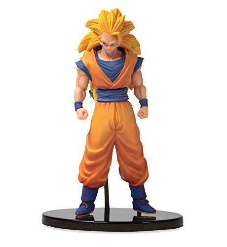 Banpresto DBZ Dragon Ball Heroes DXF Vol. 1 with Card 6.5' Super Saiyan 3 Son Goku Action Figure
