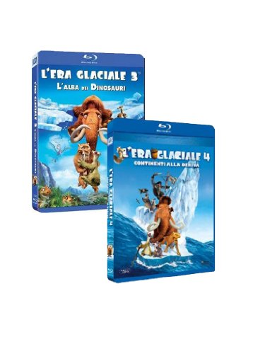 L'era Glaciale 3 + L'era Glaciale 4 - Continenti Alla Deriva 3D (Box 2 Blu-ray);Ice Age - Dawn Of The Dinosaurs;L'era glaciale 3 - L'alba dei dinosauri + L'era glaciale 4 - Continenti alla deriva