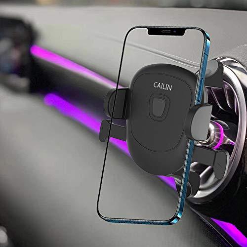 Cailin Porta Cellulare Auto Cruscotto Supporto Smartphone per Auto Compatibile con MercedeBenz Classe C, Ford Mustang, AudiS3, Volkswagen Tiguan,,mini cooper alfa romeo mito renault clio 4 FIAT 500