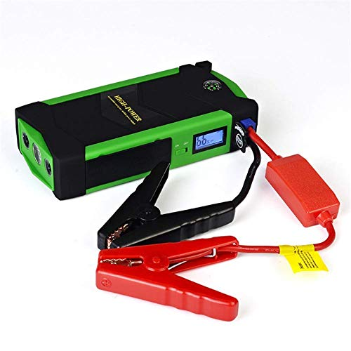 Fantastic Prices! Comprajunta 600A Peak Current Car Emergency Jump Starter Kit,Support Up to Gasolin...