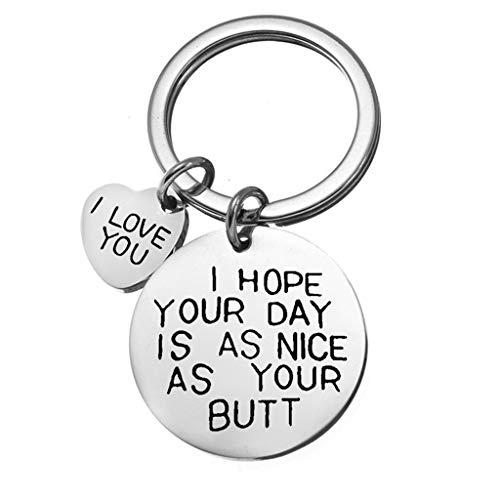 Valentijn geschenken voor haar man vriend ik hou van u de meeste sleutelhangers verjaardag cadeau voor vrouw vriendin verjaardag geschenken