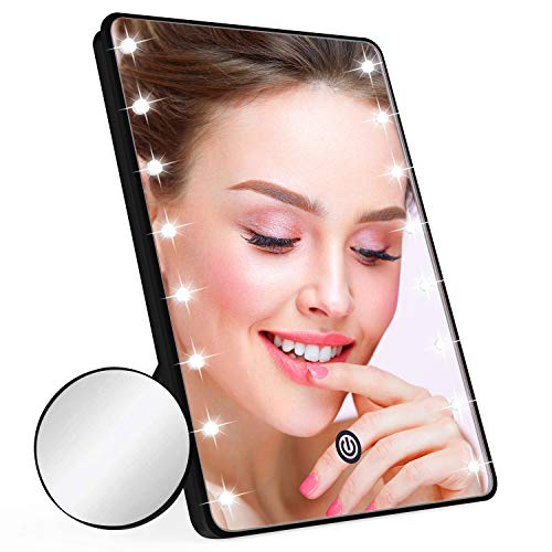 Makeup Mirror for Women and Men, Table Detachable 10X Magnification Vanity Mirror -