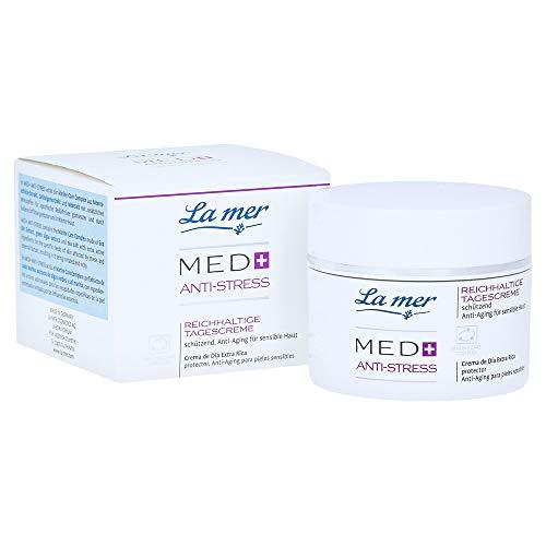 La mer Med+ Anti-Stress Reichhaltige Tagescreme 50 ml ohne Parfum