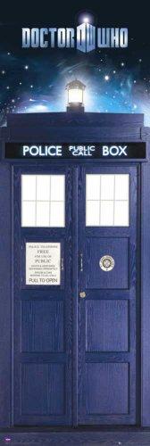 empireposter - Doctor Who - Tardis - Größe (cm), ca. 53x158 - Türposter, NEU -