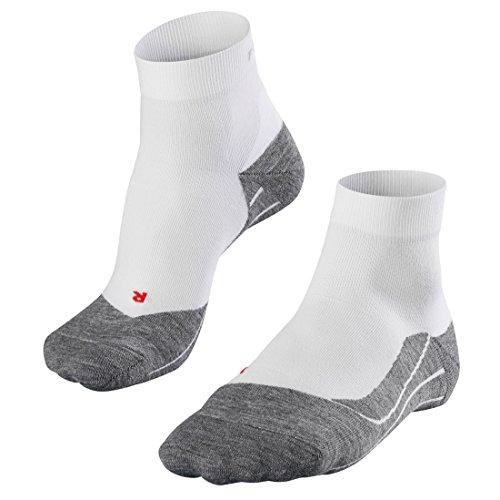 FALKE 3 Paar Running RU4 3P Short Fitness Socken für Aktive Jogger und Marathonläufer, Farbe:White-Mix 2020, Socken & Strümpfe:46-48