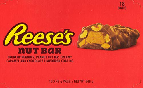 Reese's Nut Bar(Pack of 18x 47g (846g)