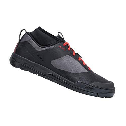 SHIMANO SH-GR701 Men's Versatile Flat Pedal Trail Shoe, Black, 43