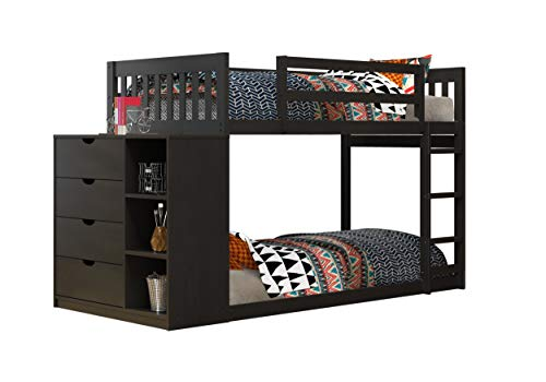 Donco Kids Mission Twin Over Twin Bunk Bed
