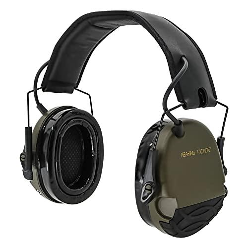 gun shooting ear protections HEARINGTACTICALElectronic ShootingEarProtection Ear Muffs for Gun Range Noise Reduction for Shooting Range 22db