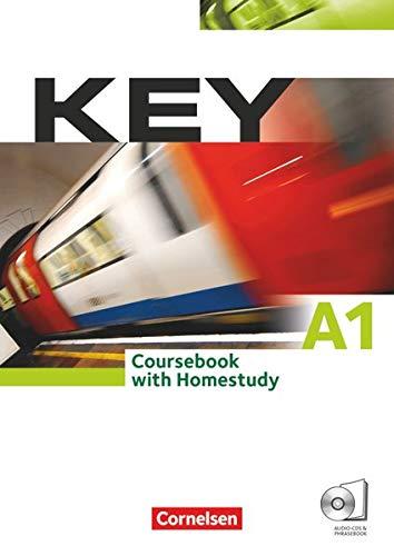 Key - Aktuelle Ausgabe: A1 - Kursbuch mit CDs und Phrasebook