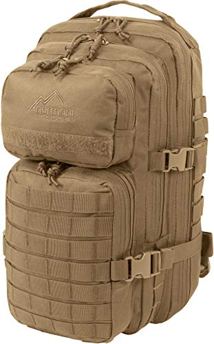 normani US Assault Pack Small, Rucksack, 25 Liter Farbe Coyote