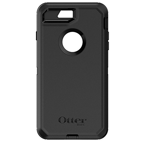 OtterBox DEFENDER SERIES Case for iPhone 8+/7+ - Bulk Single-pack (1 unit) - BLACK
