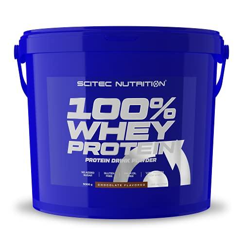 Scitec Nutrition 100% Whey Protein con aminoacidi extra, 5 kg, Cioccolato